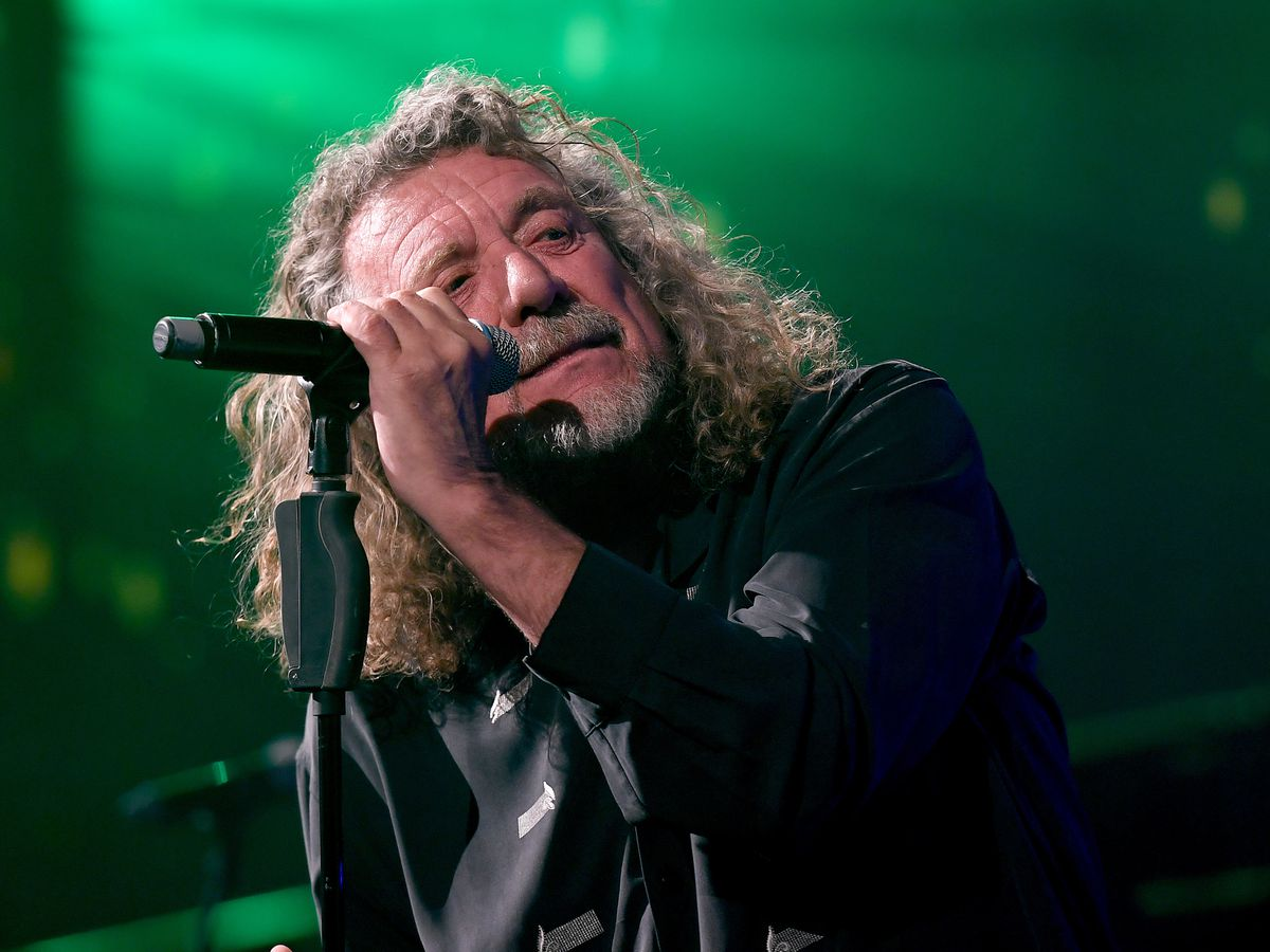 Robert Plant performs at the Wolves End of Season dinner (AMA)