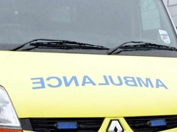 Three injured as car ends up on roof in M5 smash