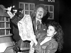 Colin Baker and Rebecca Thornhill come to Wolverhampton's Grand in 1989