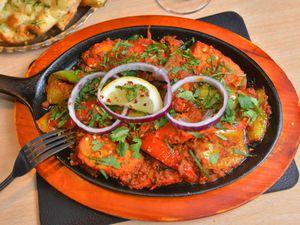Chicken Tawa – a very full main plate