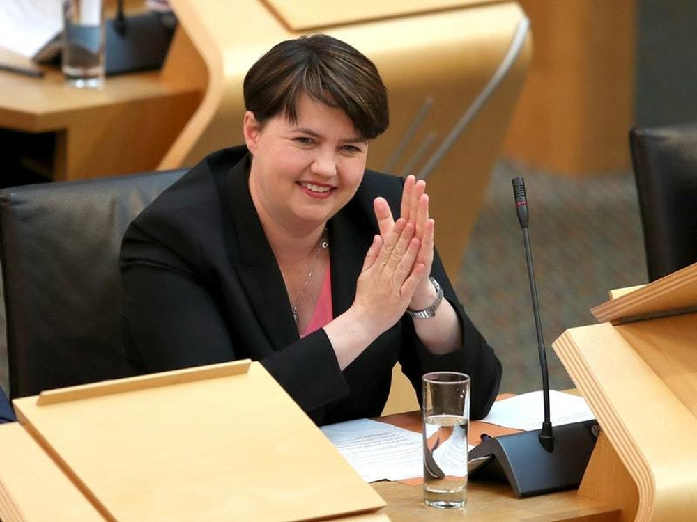 Scottish Conservative leader Davidson quits, citing Brexit and family