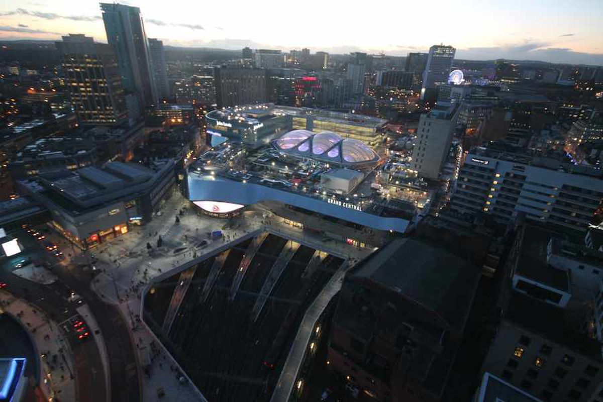 Birmingham New Street wins award for landmark revamp