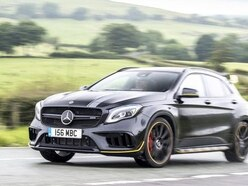 The Mercedes-AMG GLA45 Yellow Night Edition brings standout looks to the hot hatch segment