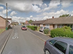 Teenagers seen climbing into Kidderminster garden
