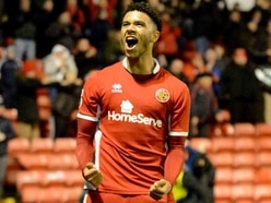 Tyler Roberts focussing on Walsall