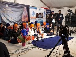 Wolverhampton's Sikh students help raise thousands during sleep-out