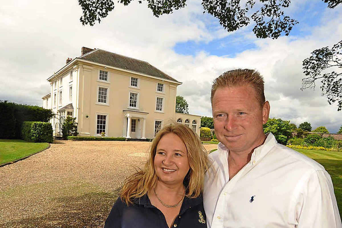 Bridgnorth manor house on market for £1.25 million
