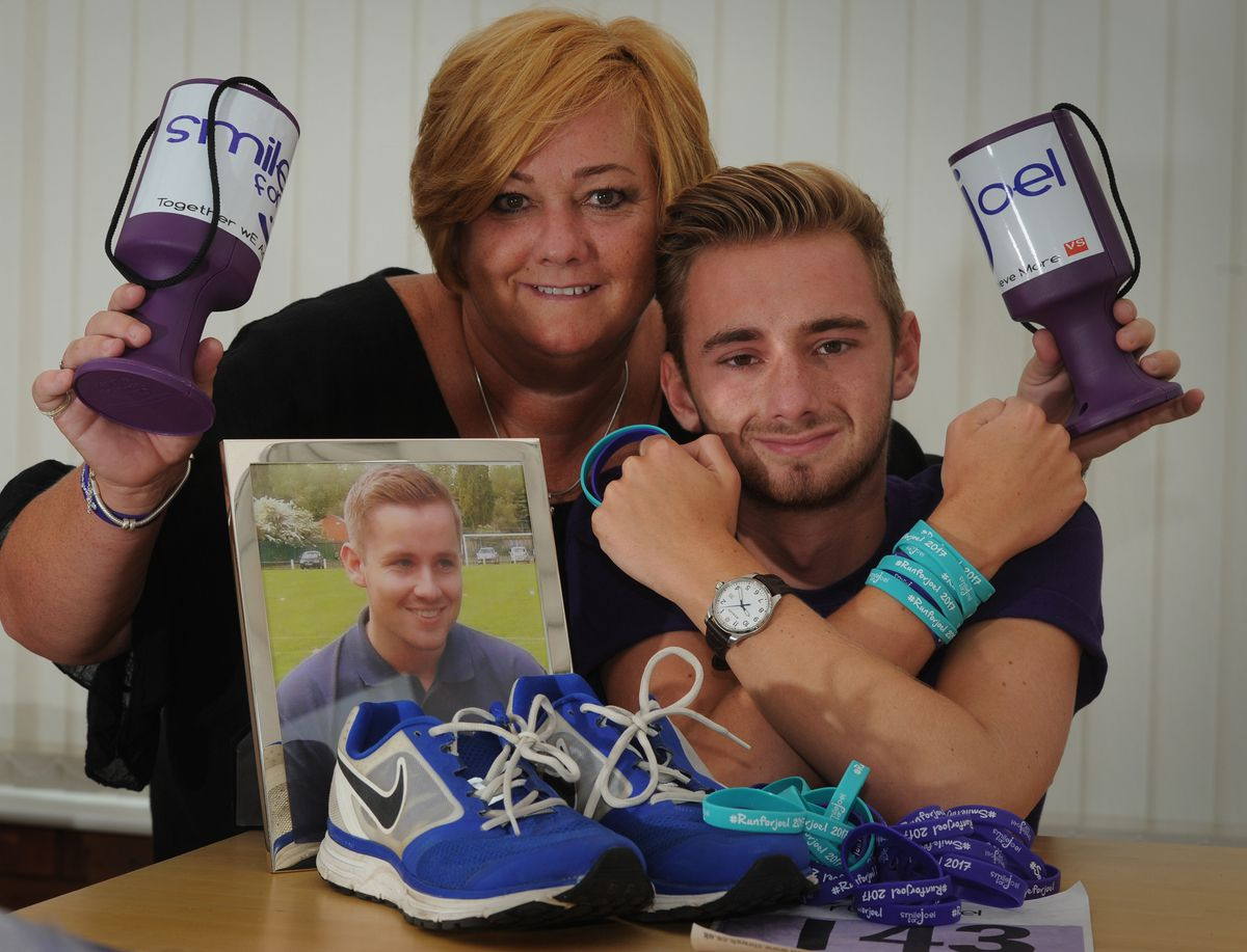 The Smile for Joel charity has raised £300,000