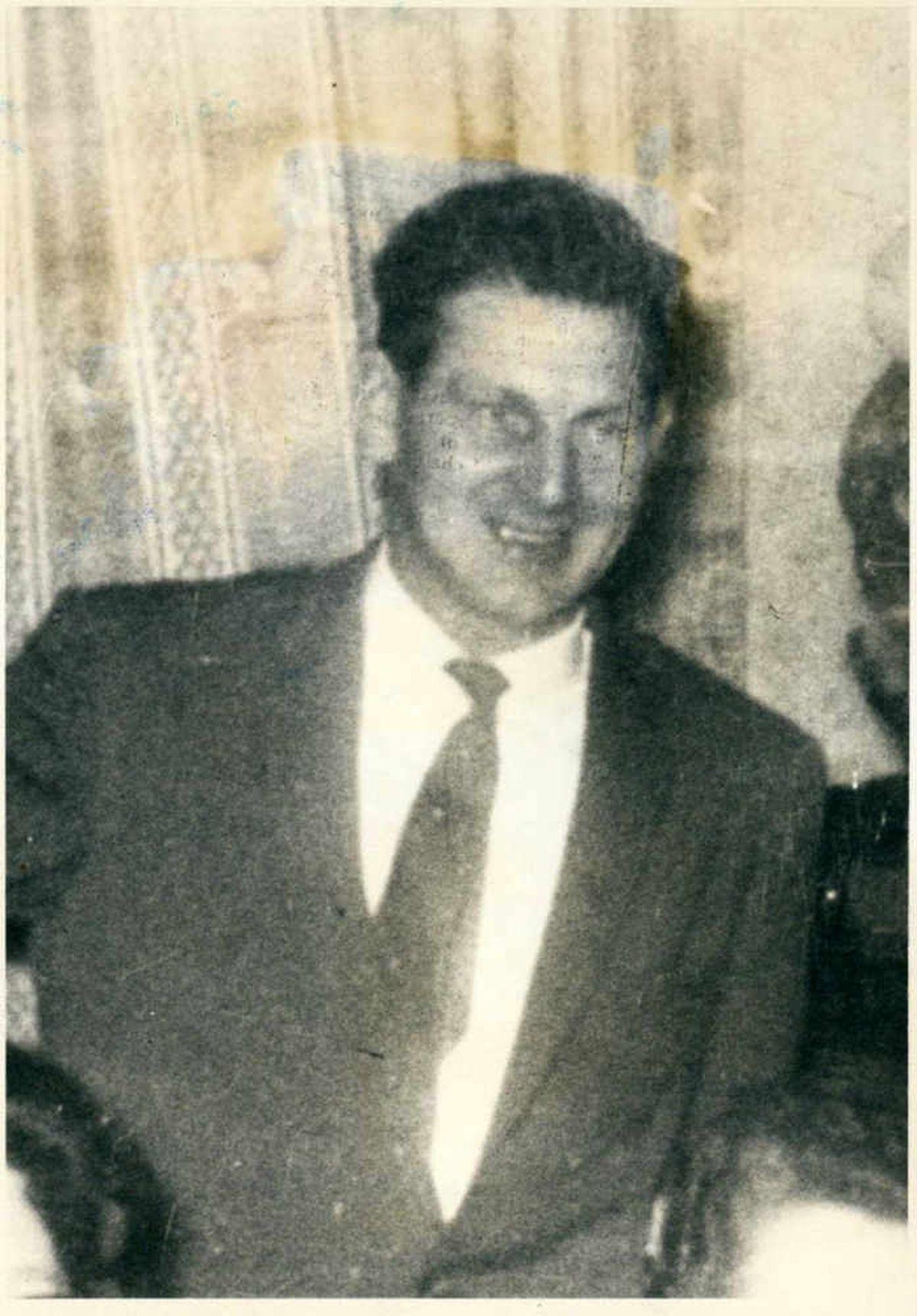Jill's father George Burkitt was 48 when he was killed