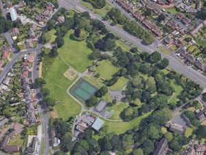 An aerial vew of Silver Jubilee Park in Coseley. Photo: Google
