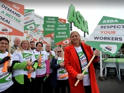 Bloxwich Asda staff protest over contract changes