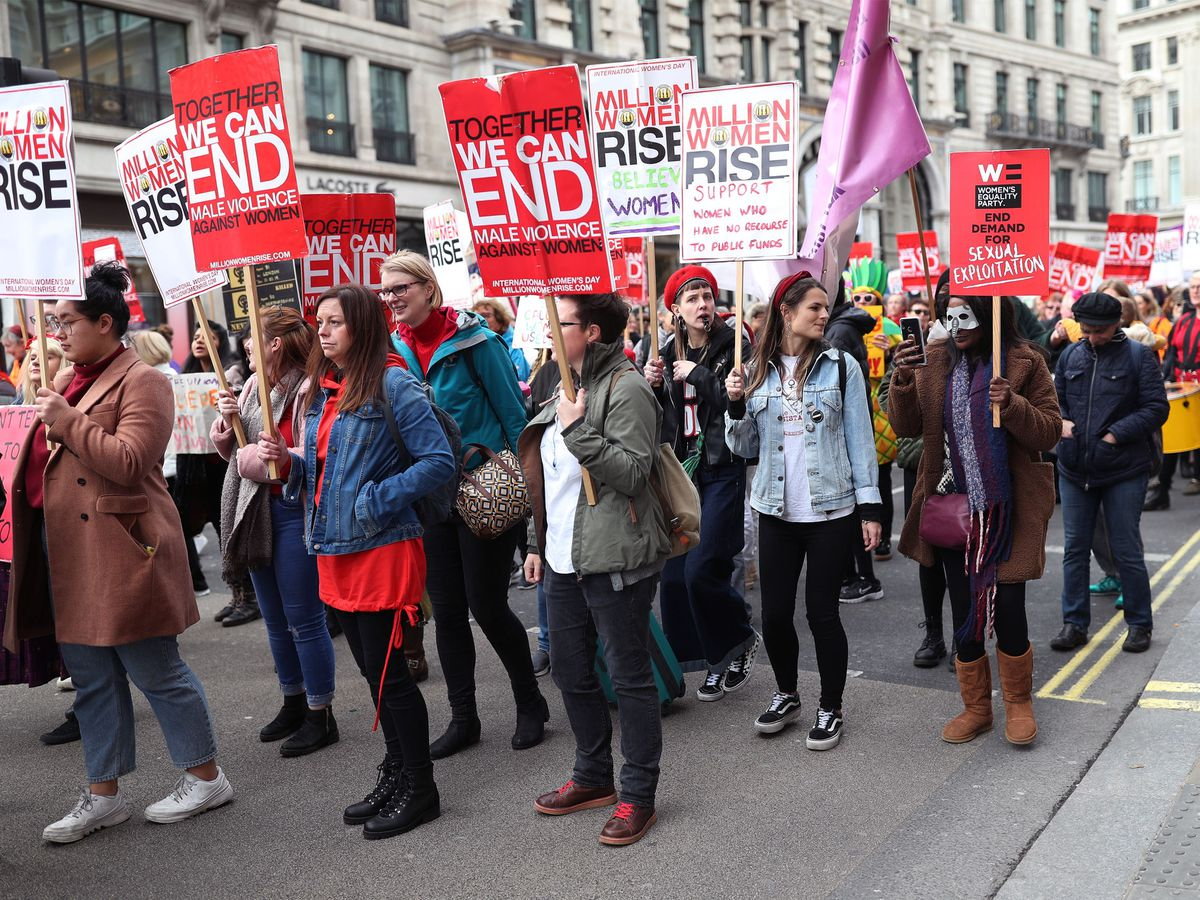 Million Women Rise march