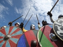 In Pictures: Hordes of Vikings descend on Yorkshire town