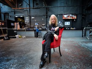 FEATURES  COPYRIGHT TIM STURGESS Express & Star ......... 07/11/19  Picture of K K Downing at his music venue, The Steel Mill in Wolverhampton.For  Mark Andrews..