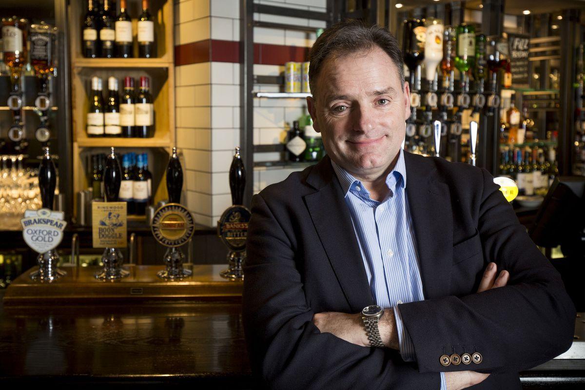 Ralph Findlay, Marston's CEO