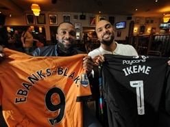 Ex-Wolves players star at charity night