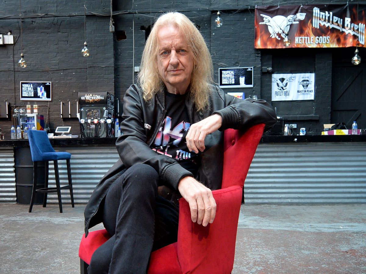 K K Downing at The Steel Mill in Wolverhampton
