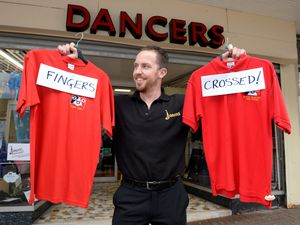 Dave Dancer from Dancers clothes shop, in Halesowen, is keeping his fingers crossed after being shortlisted for the Family Business of the Year Award in the Black Country Chamber Awards