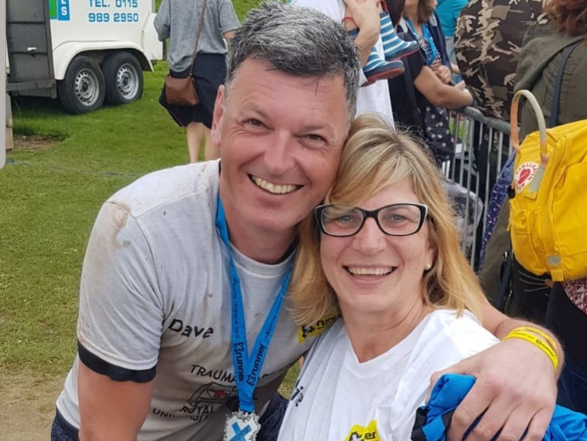 Pc Claire Bond and Pc Dave Mullins were on duty together at the event last year