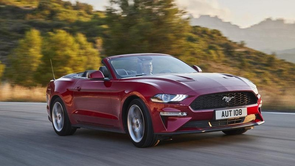 Ford reveals new European Mustang with more power and sleeker styling