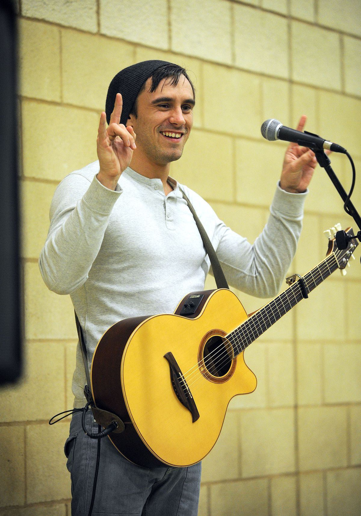X Factor contestant Joseph Whelan performed a fundraising concert at the Charlton School in Wellington.