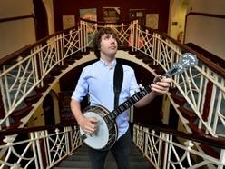 Banjo man Dan all set for homecoming gig