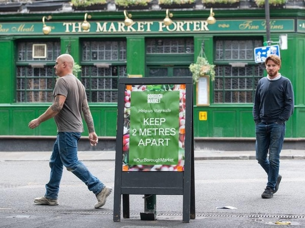 Hospitality sector calls for two-metre social distancing rule to be halved