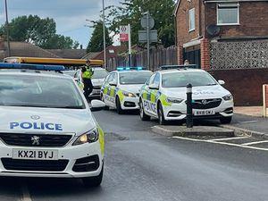 Police patrol cars in Bilston. Photo: T Szoros
