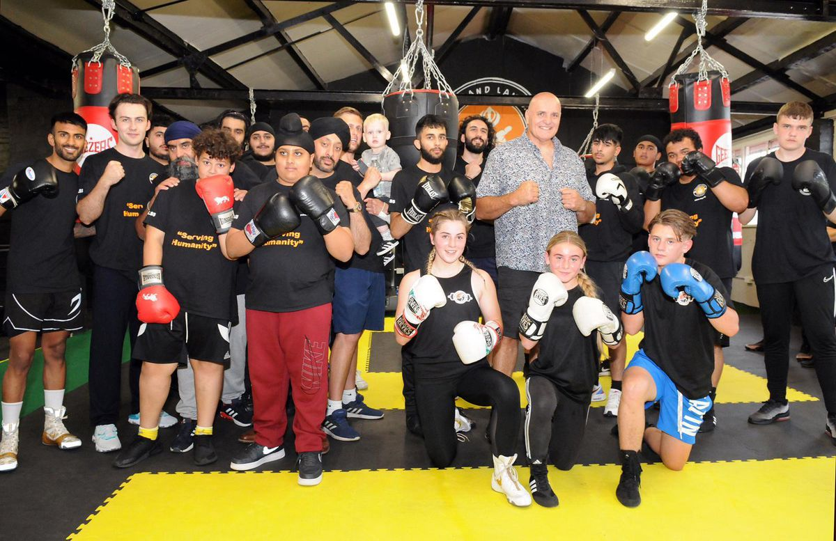 Tyson Fury's father John Fury opens the new Community and Wellbeing Hub in Walsall. Photo: Lisa Bedi Photography