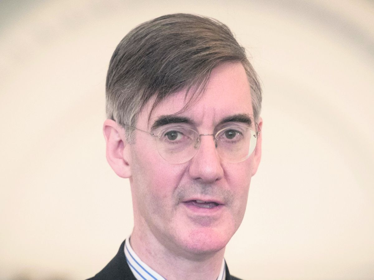 Brexiteer Tory MP Jacob Rees-Mogg