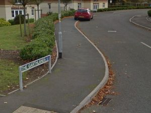 The plans had been lodged for The Garthlands in Stafford. Photo: Google