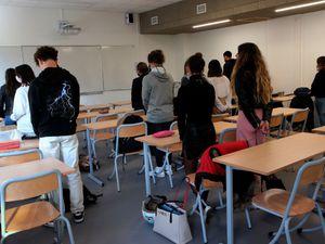 France Teacher Beheaded Commemoration