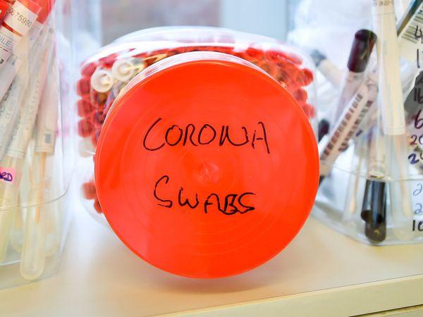 Coronavirus swab