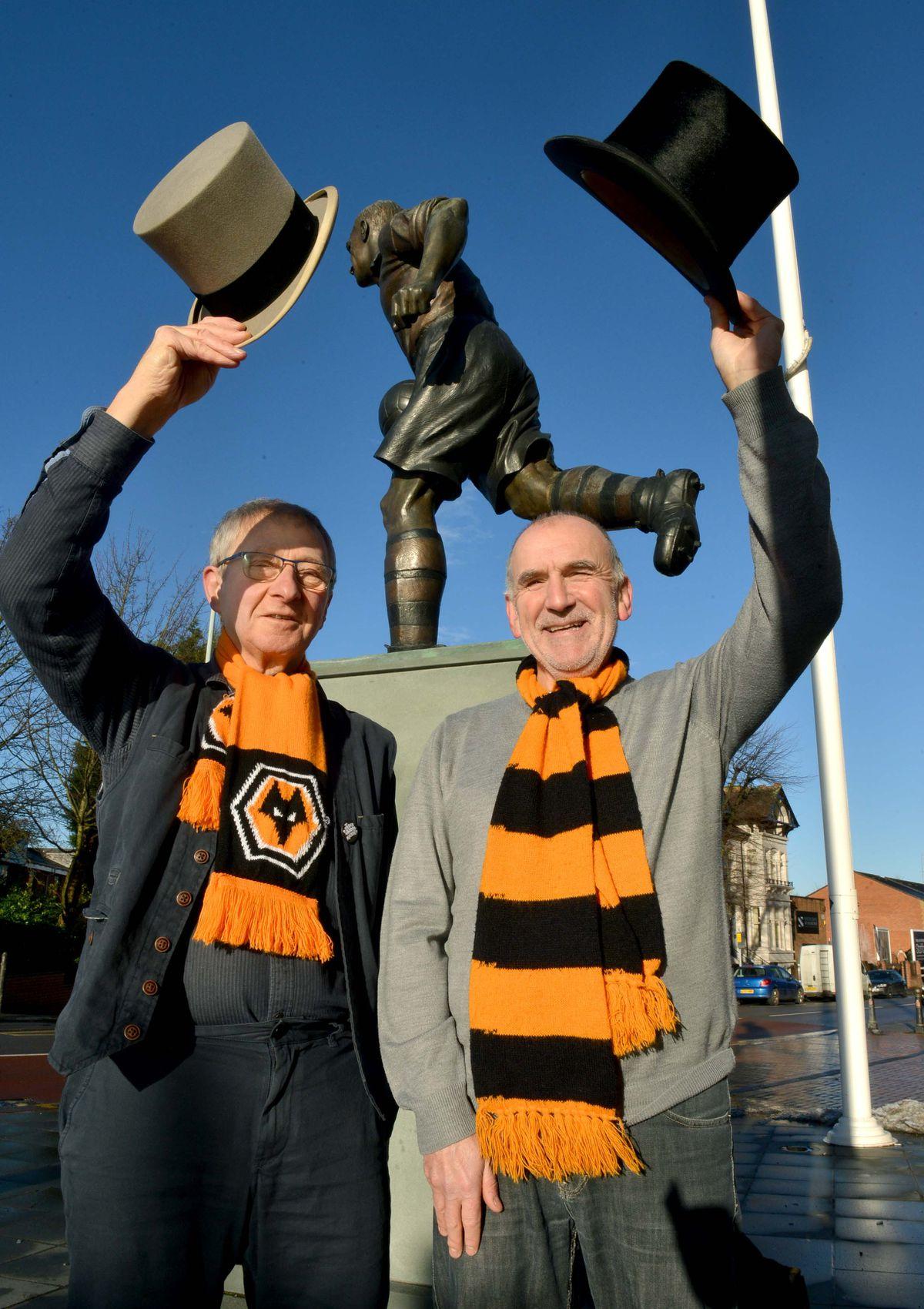 Steve Gordos (left) and Clive Corbett