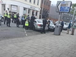 Arrests made after police stop vehicle on West Bromwich High Street