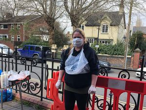 Volunteers from across Walsall have been supporting vulnerable residents during the coronavirus lockdown. PIC: Janet Davies