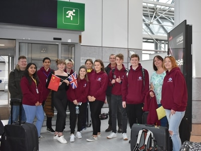 Students head to China after competition win
