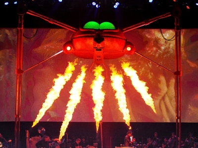 Jeff Wayne's Musical Version of War of The Worlds, Resorts World Arena, Birmingham - review