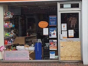 Acorns in Blackheath was broken into. Picture by Toby Porter