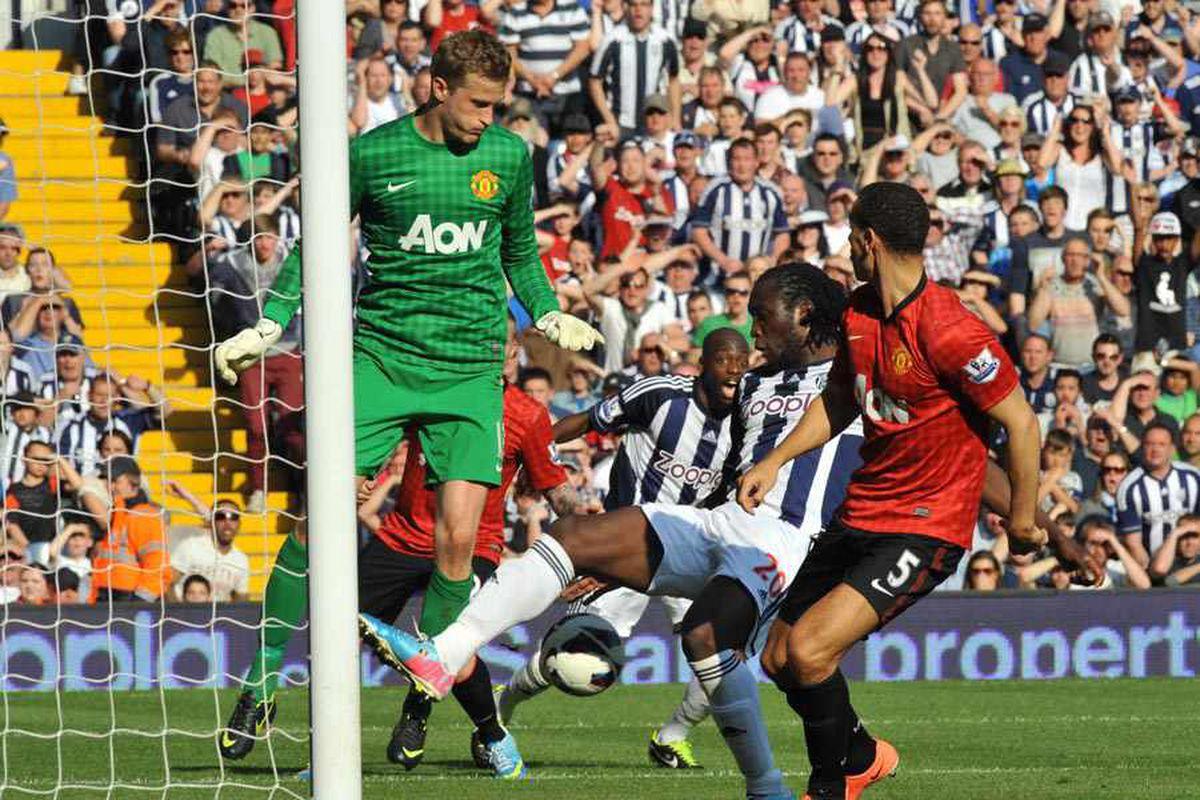 West Brom 5 Man United 5 - match report