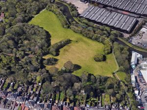 An aerial view of Powke Lane Open Space. PIC: Google Maps