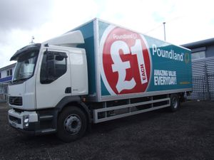 Hartshorne has clinched a deal with retailer Poundland for 32 vehicles, including 12 new Volvo FL 18 ton distribution vehicles. One of these vehicles, in bright new Poundland livery, was put onCommunications Ltd, tel 01543 490932 or 07949 202596.