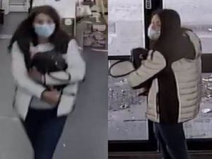 Police want to speak with this woman. Photo: WMP