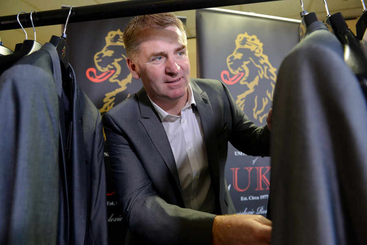 Walsall manager Dean Smith got the measure of the jackets when Luke Roper visited to size up the Saddlers for their trip to Wembley.