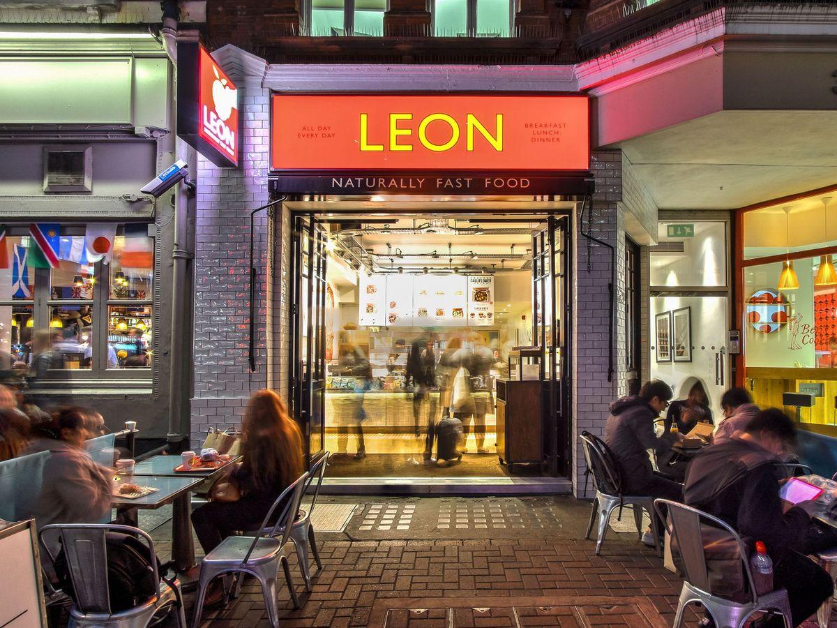 View of Leon restaurant