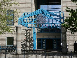Sawn-off shotgun is fired outside Wolverhampton house, court told