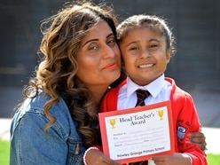 Little Amaya, 6, saves mother after she collapses at Halesowen home