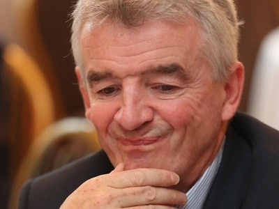 Ryanair CEO Michael O'Leary warns over rising risk of no-deal Brexit