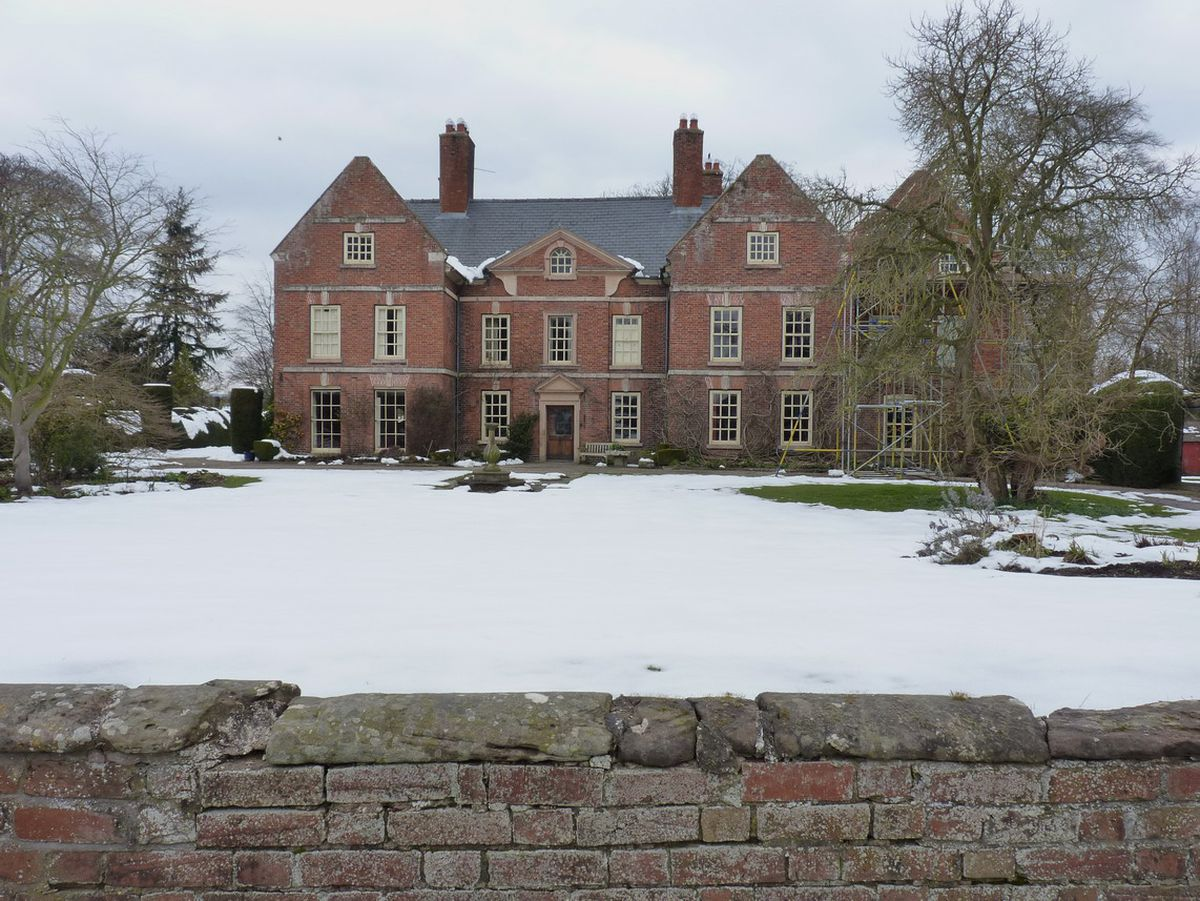 """Whitton Hall - """"The perfect gabled mansion."""" Photo: Richard Law."""