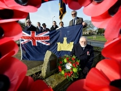 Wreaths laid for Victoria Cross hero honouring his bravery